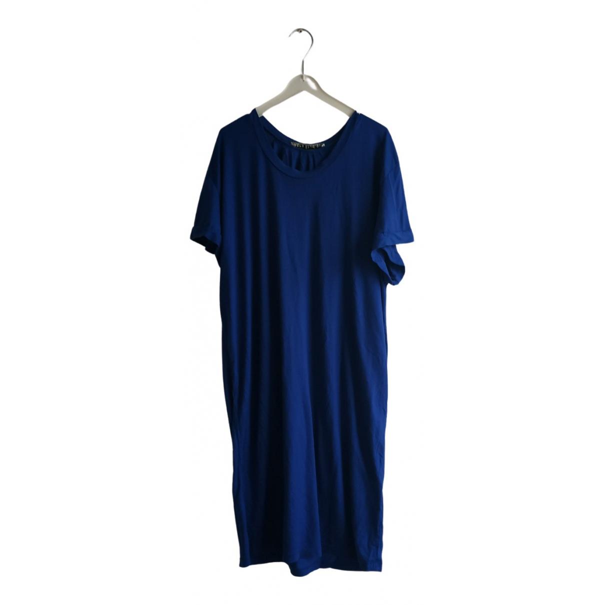 Acne Studios - Robe   pour femme en coton - bleu