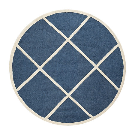 Safavieh Jervis Geometric Hand Tufted Wool Rug, One Size , Blue