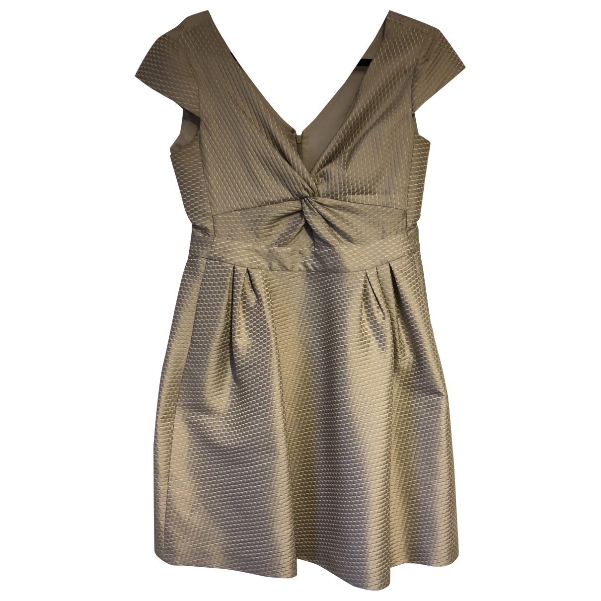 Armani Collezioni \N Kleid in  Gold Polyester