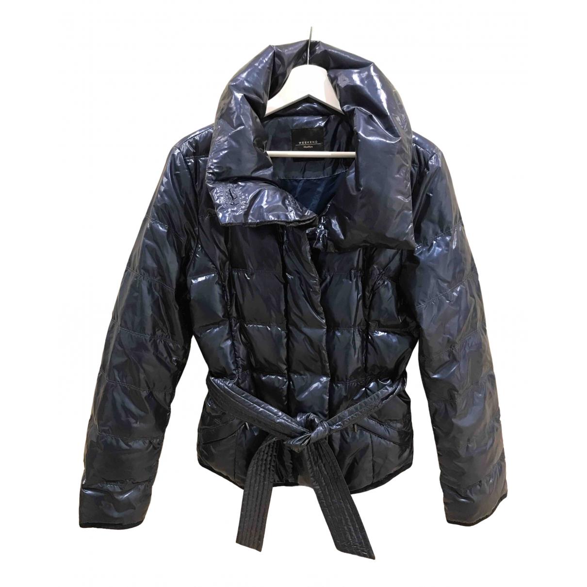 Max Mara Weekend N Blue coat for Women 42 IT