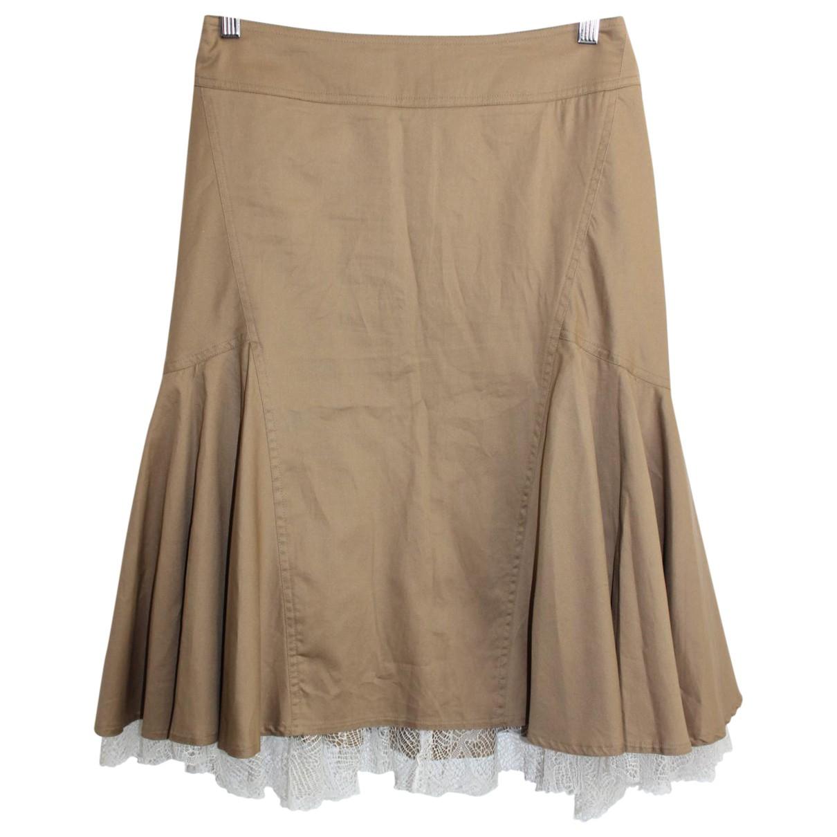 Diane Von Furstenberg - Jupe   pour femme en coton - marron