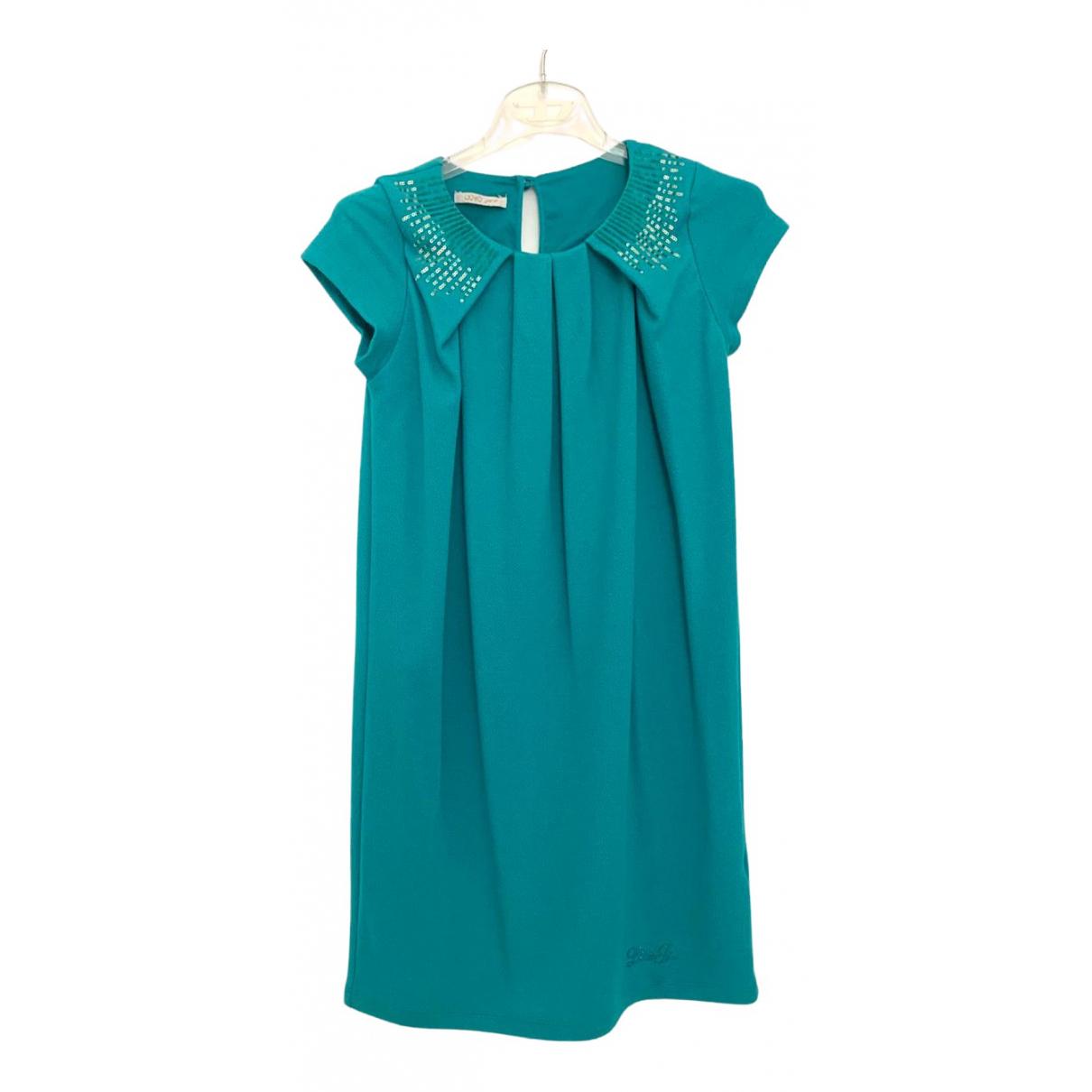 Liu.jo - Robe    pour enfant - turquoise