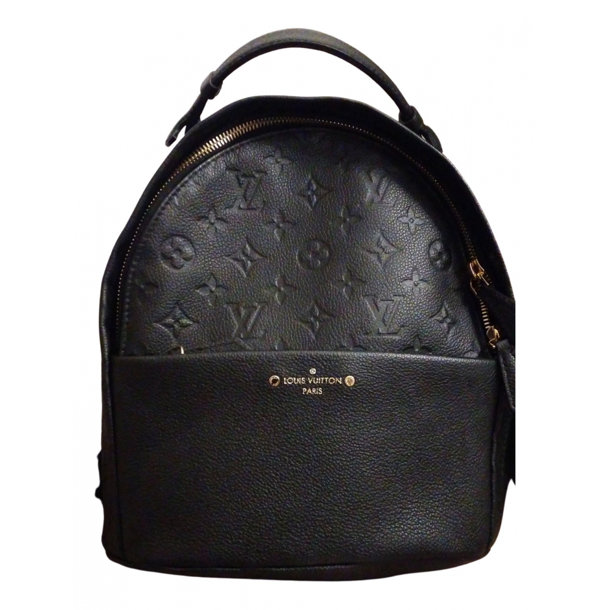 Louis Vuitton Sorbonne Backpack Black Leather backpack for Women N