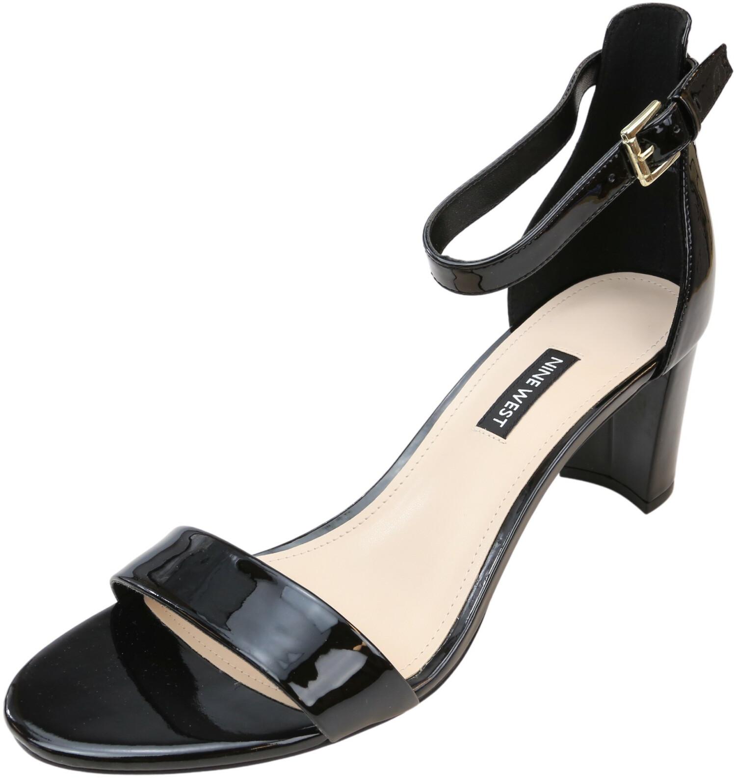 Nine West Women's Spruce Black Ankle-High Pump - 9.5M