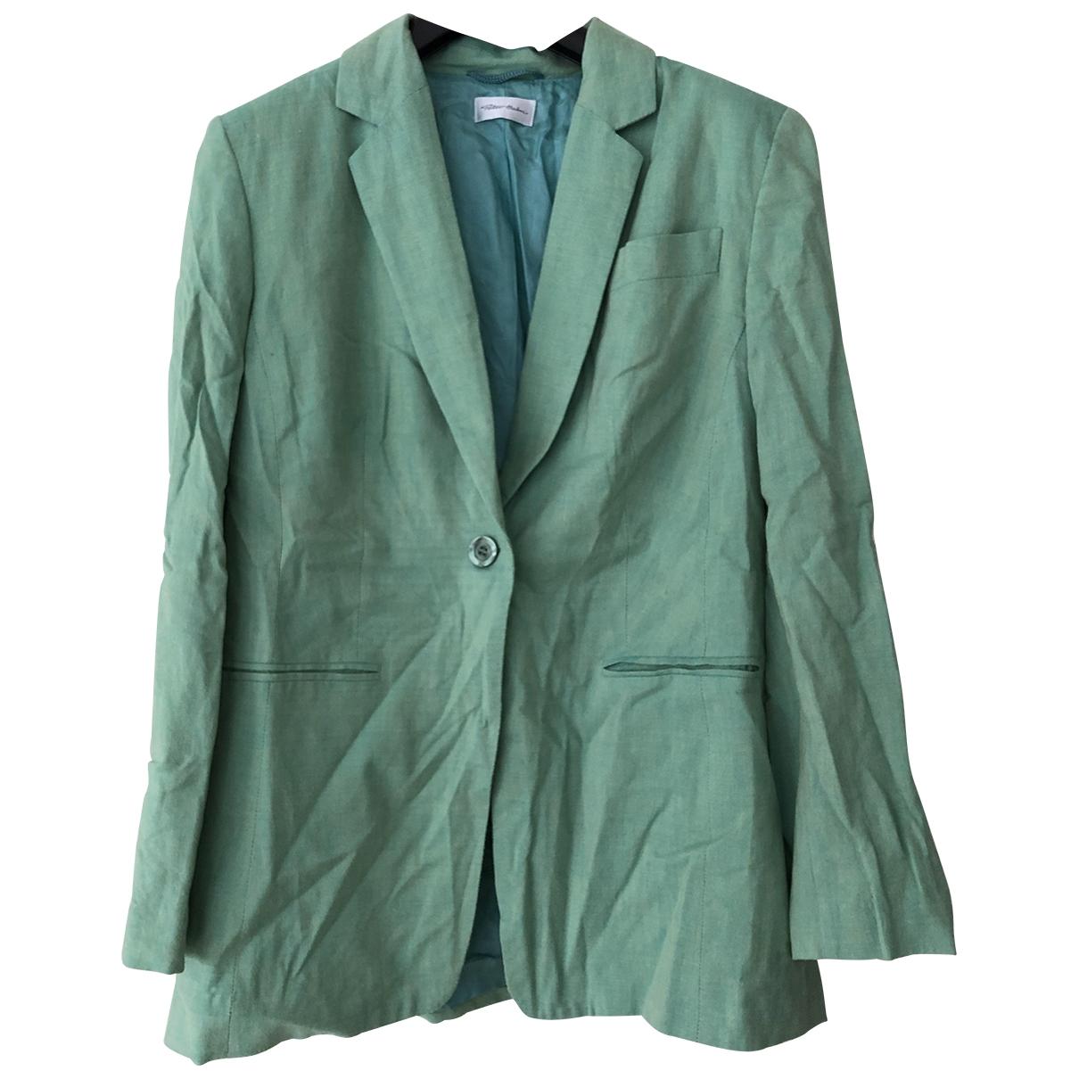 - Veste   pour femme en soie - vert