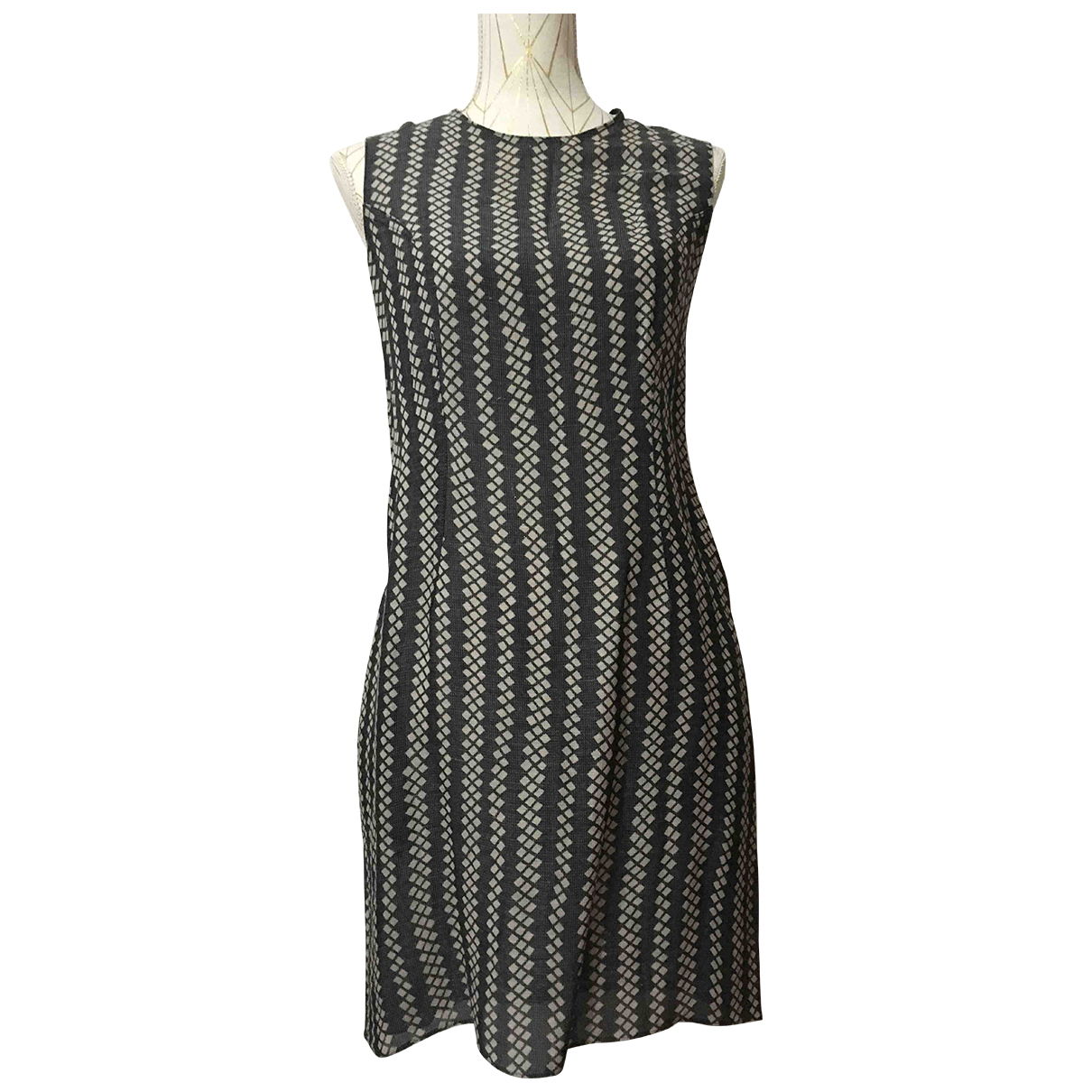 Marni N Grey Silk dress for Women 38 IT