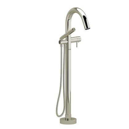 Riu RU39PN-SPEX 2-Way Thermostatic Coaxial Floor Mount Tub Filler with Hand Shower  in Polished