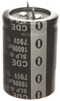 Cornell-Dubilier 1500μF Electrolytic Capacitor 250V dc, Through Hole - SLP152M250H9P3