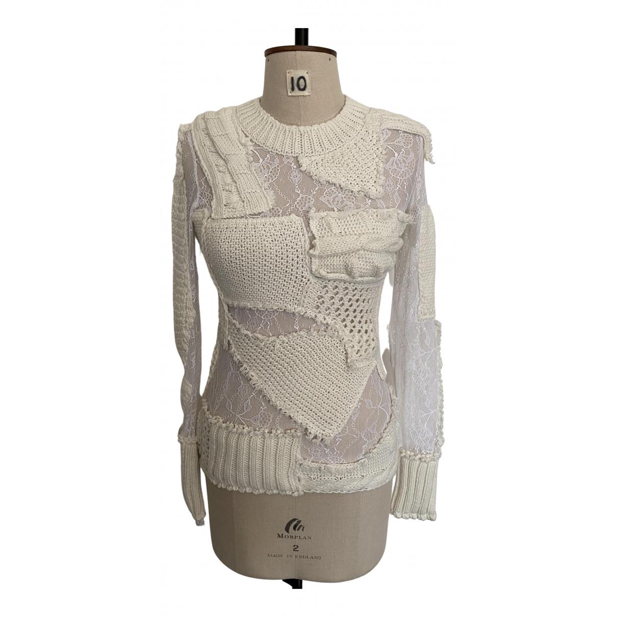 Preen By Thornton Bregazzi \N White Knitwear for Women XS International