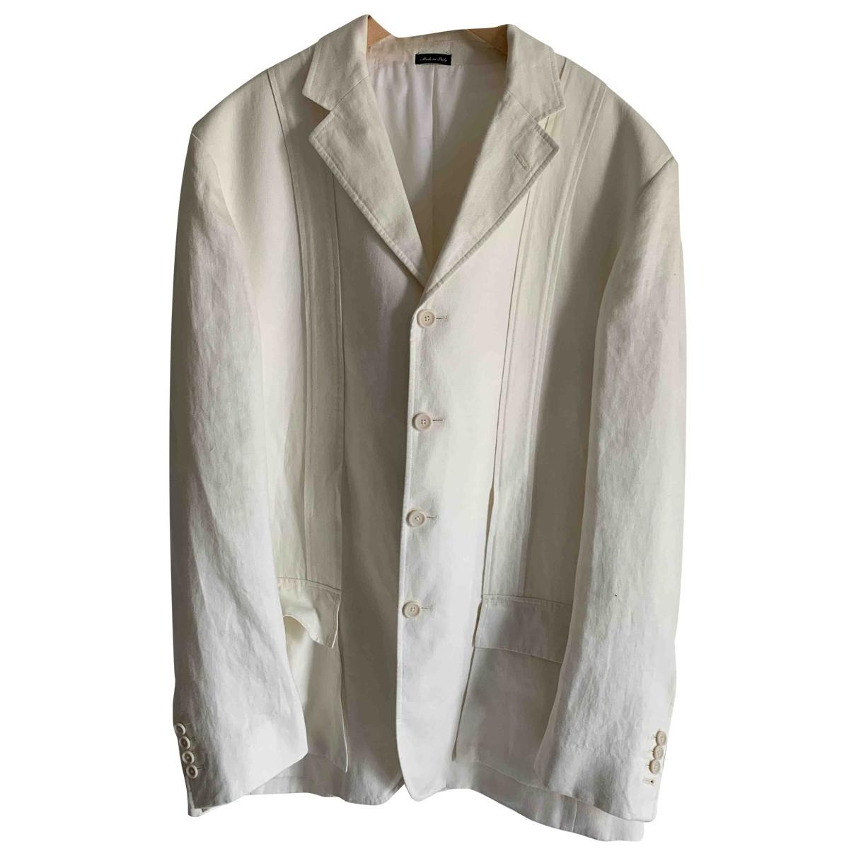 Polo Ralph Lauren \N White Linen jacket  for Men L International