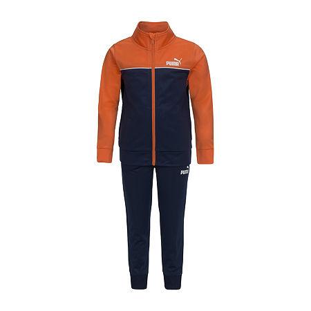 Puma Toddler Boys 2-pc. Tonal Track Suit, 2t , Orange