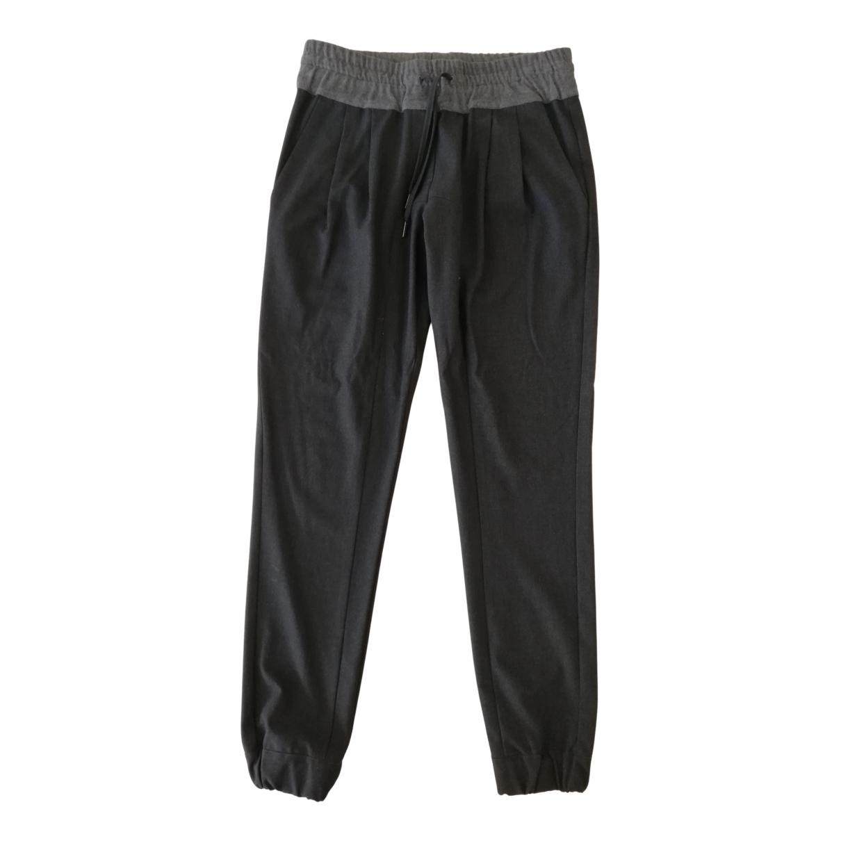 John Richmond N Grey Trousers for Women 44 IT
