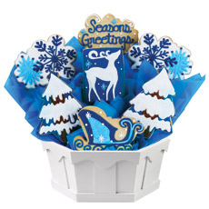 Gifts for Christmas | Winter Cookie Bouquet