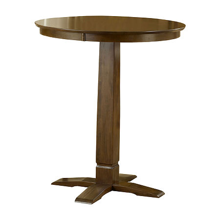 Canton Pub Table, One Size , Brown