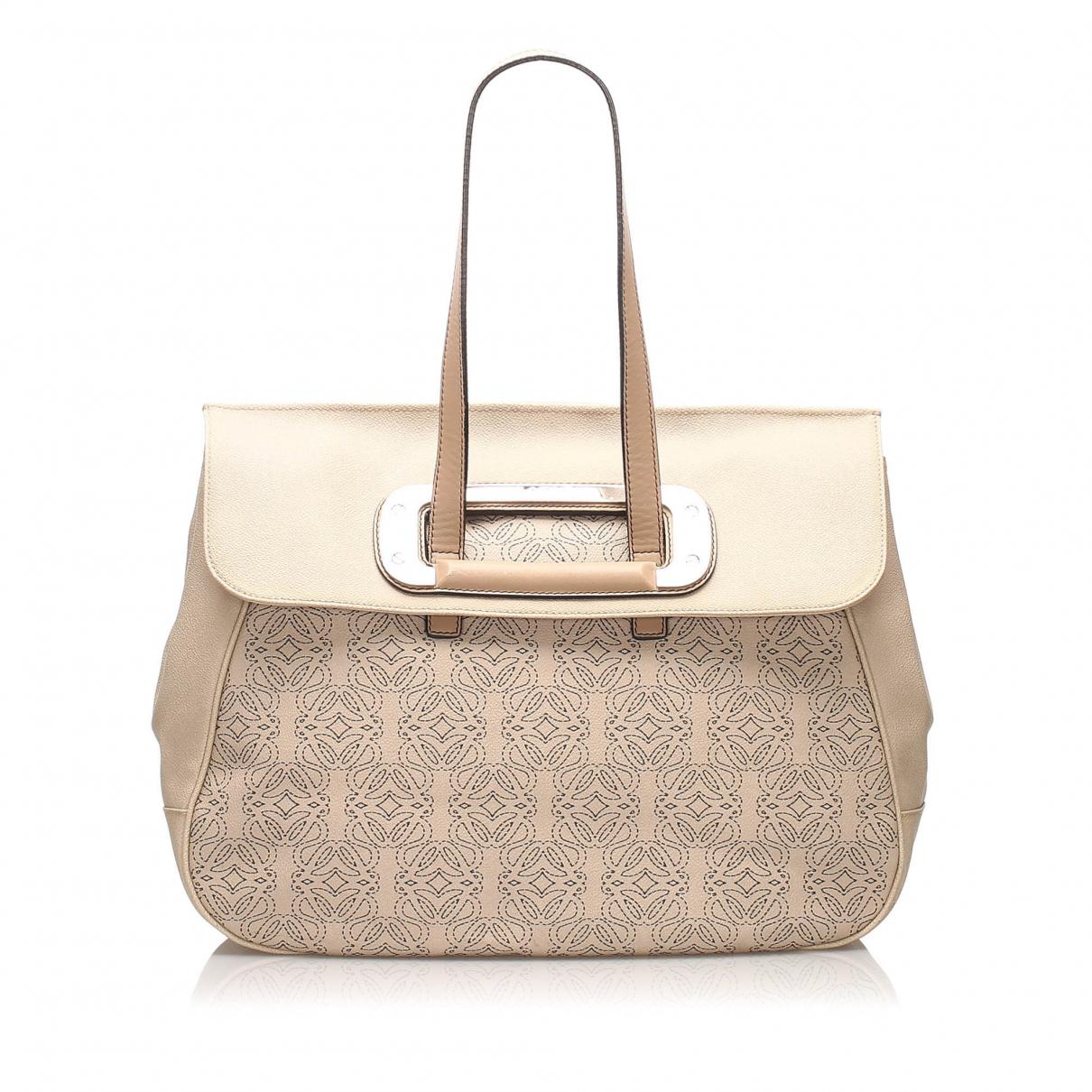 Loewe N Brown Leather handbag for Women N