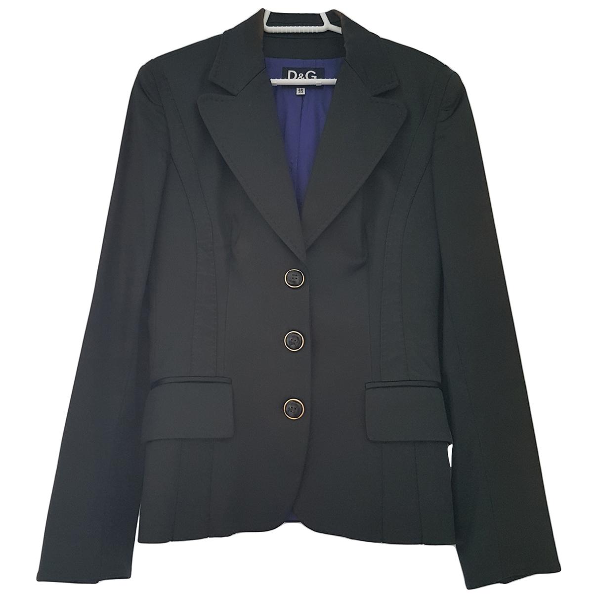 D&g - Veste   pour femme en coton - noir