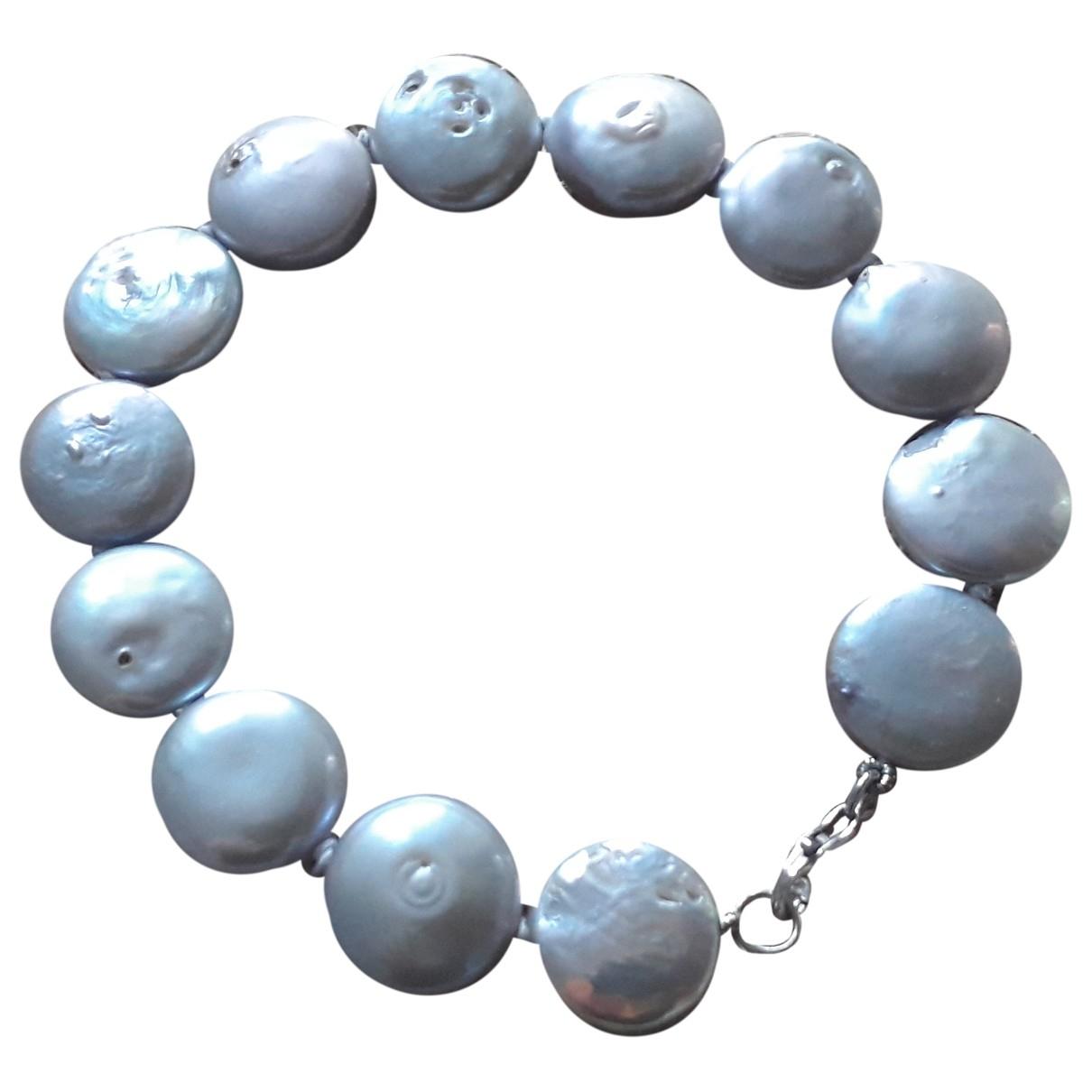 - Bracelet Nacre pour femme en perles - blanc