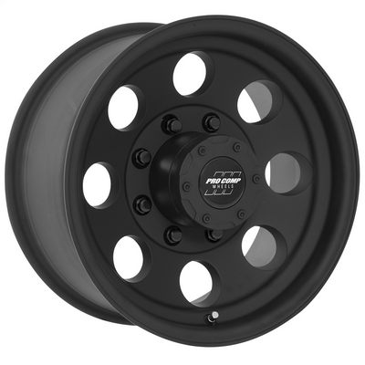 Pro Comp 69 Series Vintage, 17x9 Wheel with 8 on 170 Bolt Pattern - Flat Black - 7069-7970
