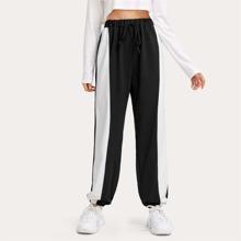 Side Tape Drawstring Pants