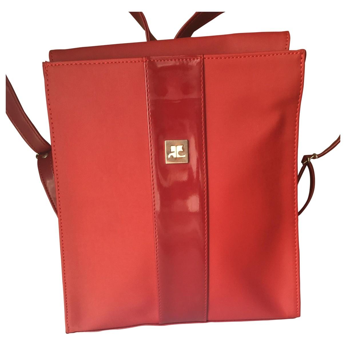 Courreges - Sac a dos   pour femme - rouge