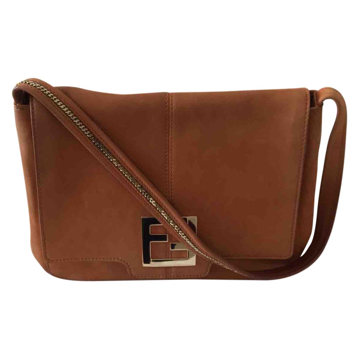 Fendi \N Handtasche in  Kamel Veloursleder