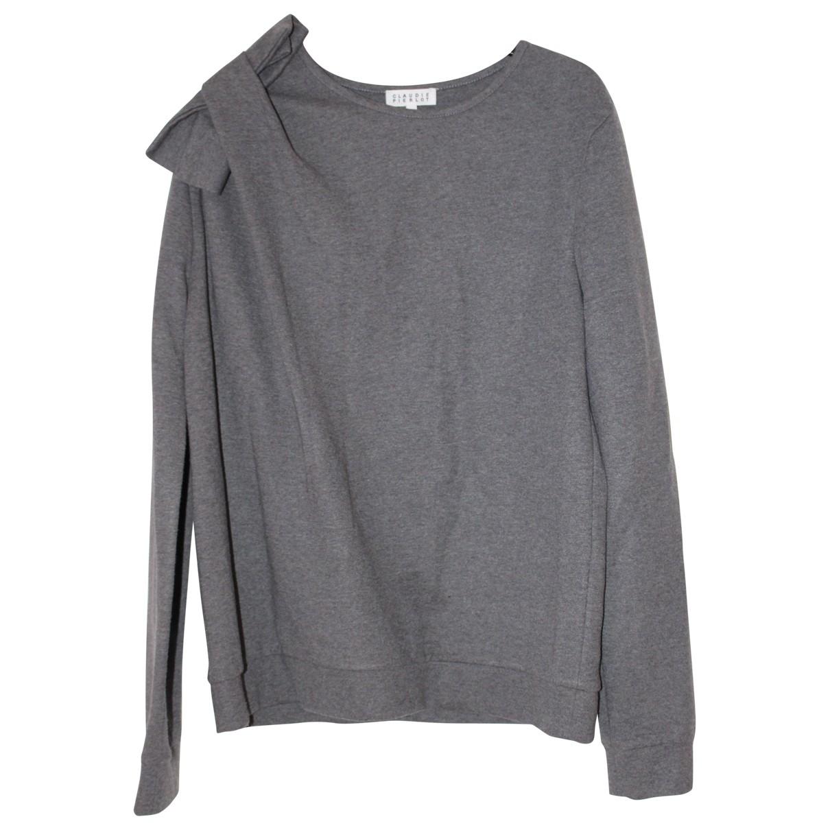 Claudie Pierlot \N Pullover in  Anthrazit Polyester