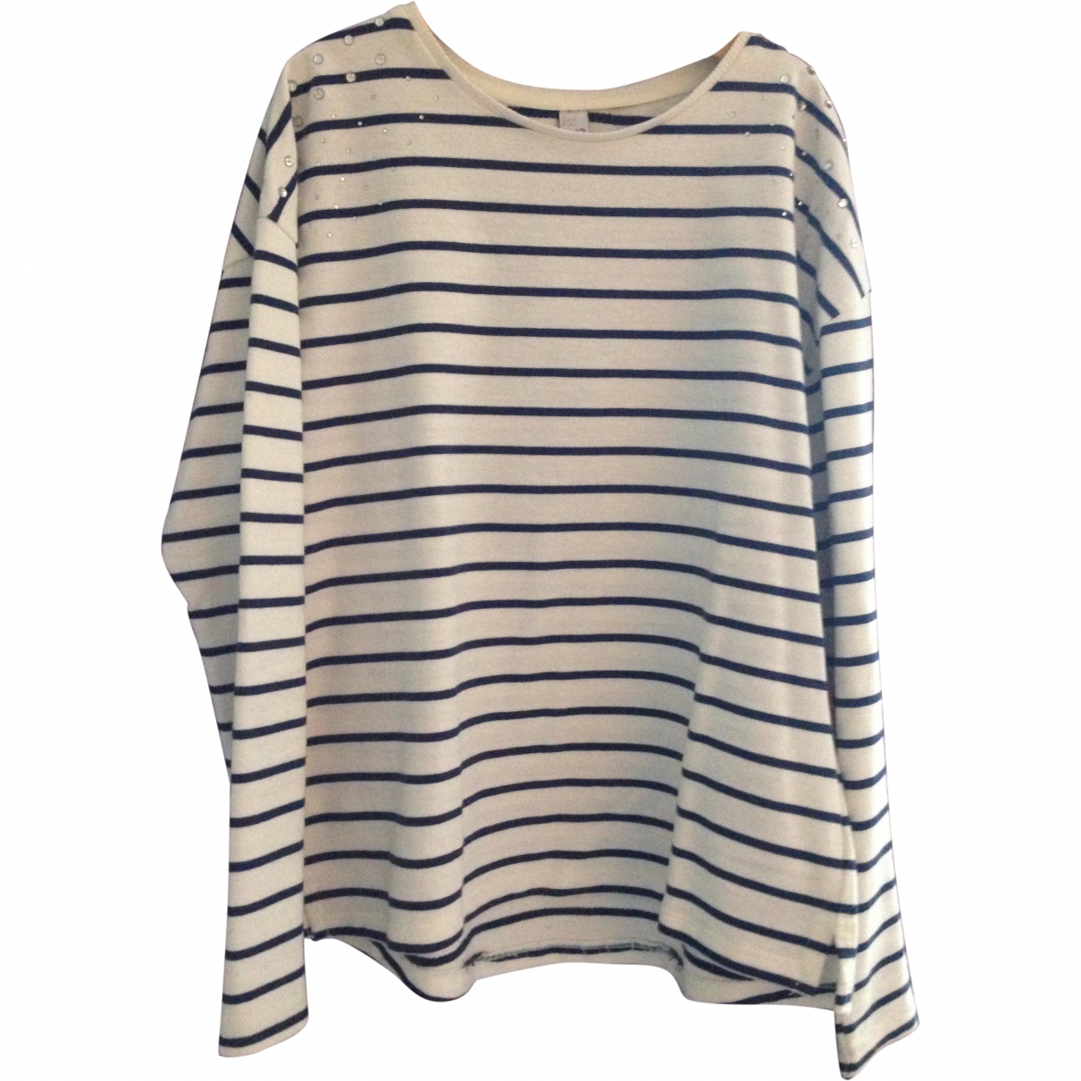Zara \N Beige Cotton Knitwear for Kids 12 years - XS FR