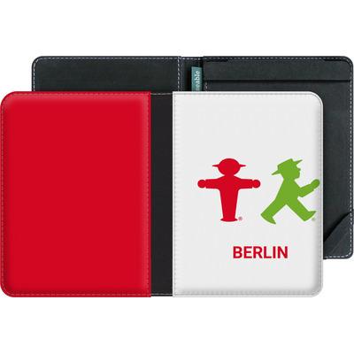 tolino vision 4 HD eBook Reader Huelle - Green and Red von AMPELMANN