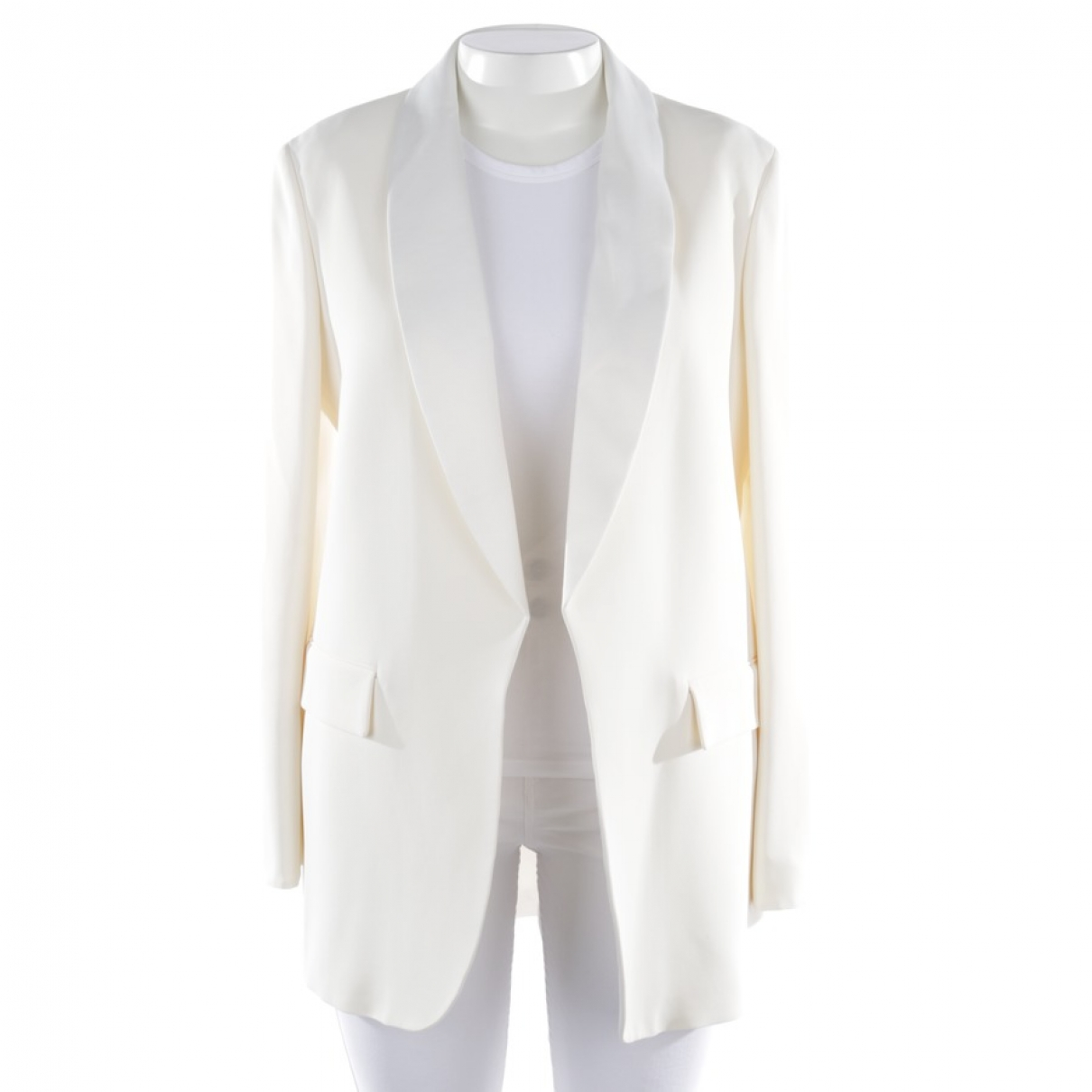 Joseph \N White Cotton jacket for Women 42 FR