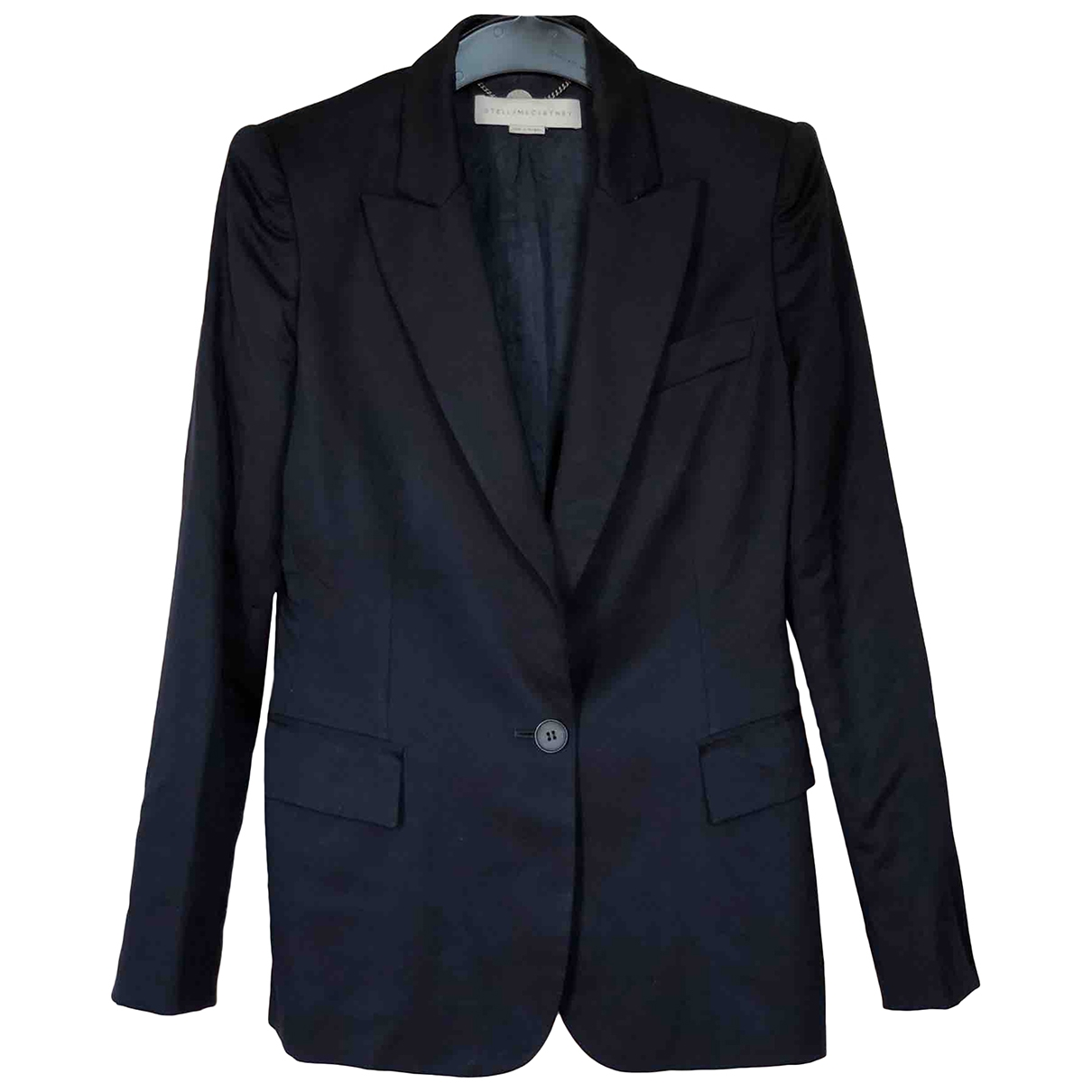 Stella Mccartney \N Blue Wool jacket for Women 36 IT