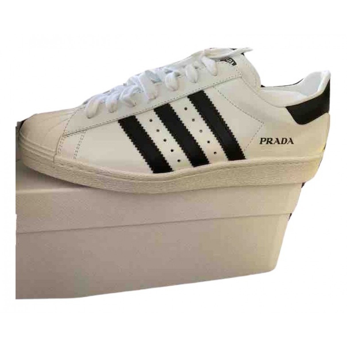 Prada X Adidas N White Leather Trainers for Men 11 UK