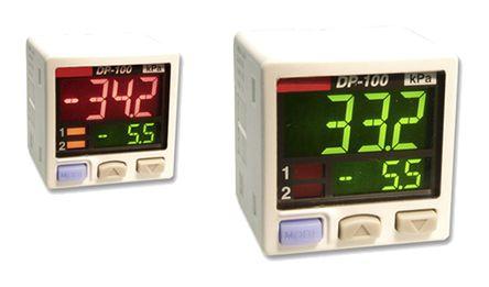 Panasonic Pressure Sensor for Non-Corrosive Gas , 10bar Max Pressure Reading PNP Open Collector