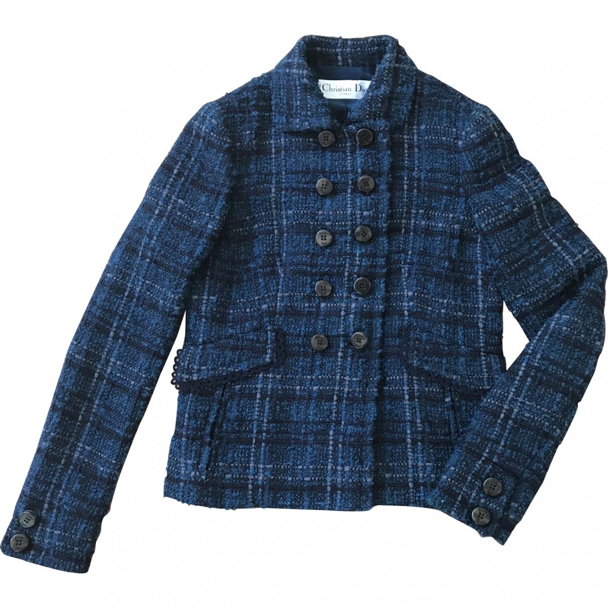 Dior \N Blue Tweed jacket for Women 40 FR