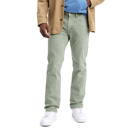 Levi's 514 Straight Mens 514 Straight Fit Straight Leg Jean, 38 32, Green