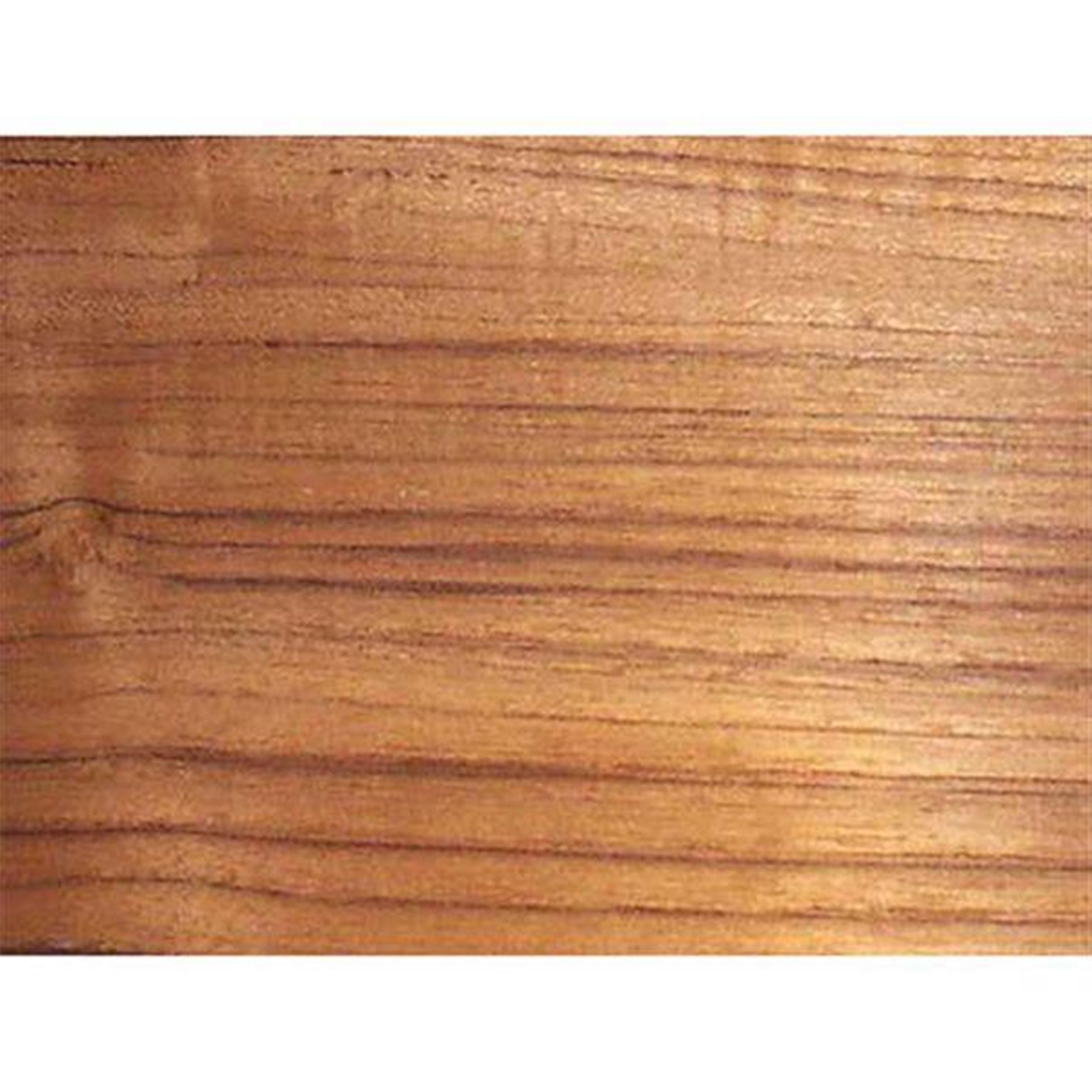 Teak 2' x 8' 10mil Paperbacked Wood Veneer