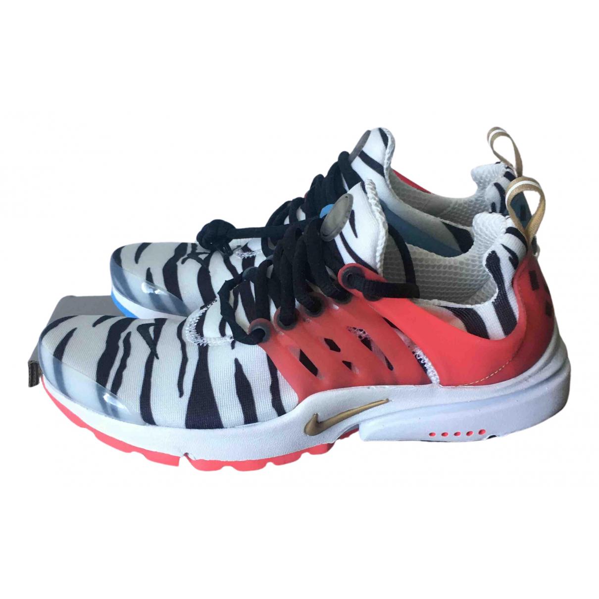 Nike - Baskets Air Presto pour femme en toile - multicolore