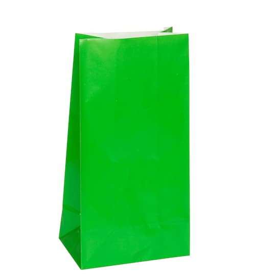2 Pack of Paper Green Party Favor Bags, 12Ct By Unique | Michaels®