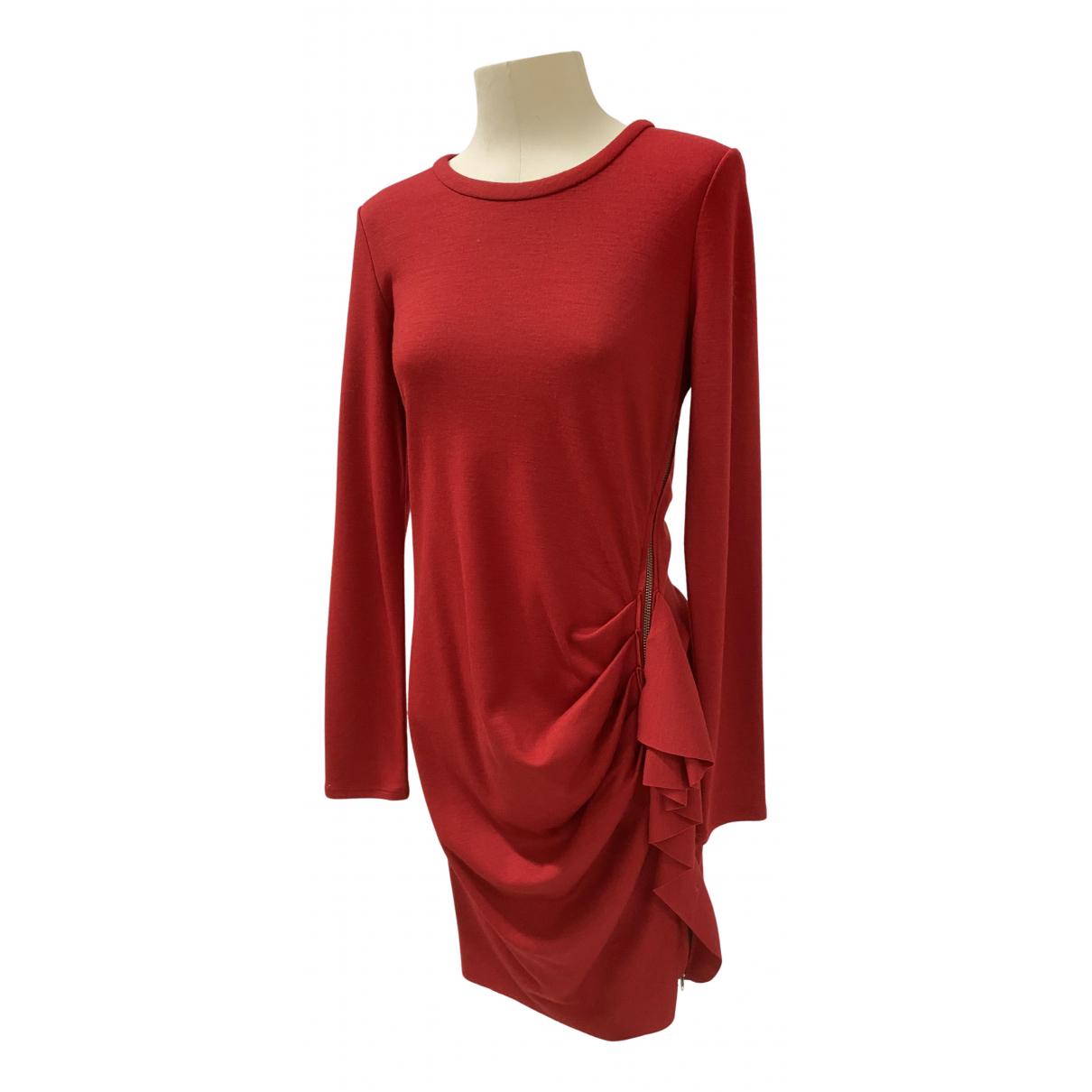 Joseph \N Kleid in  Rot Wolle