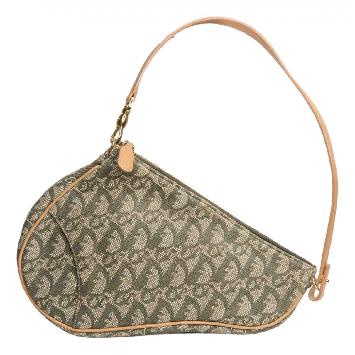 Bolsos clutch Saddle en Denim - Vaquero Verde Dior