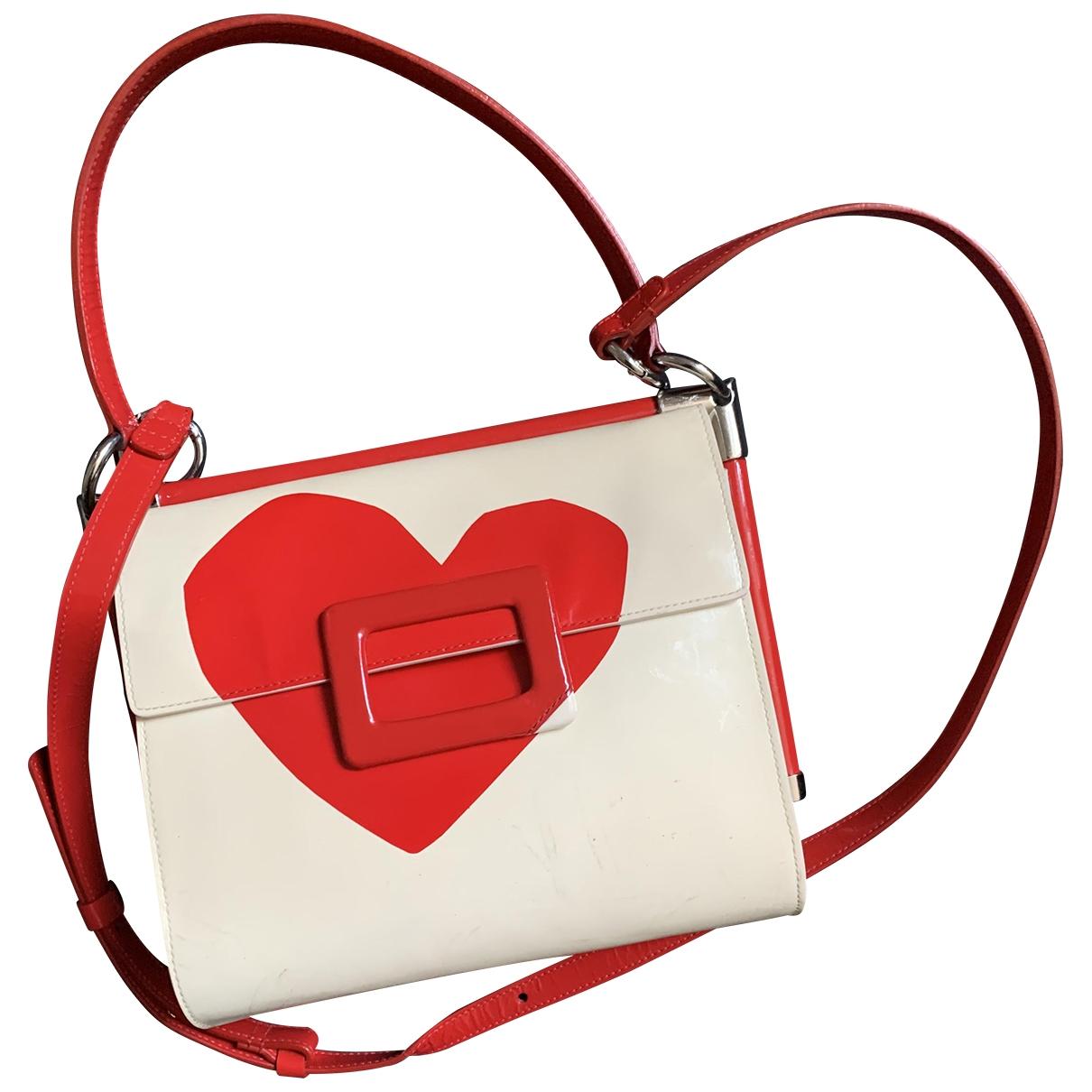 Roger Vivier \N White Patent leather handbag for Women \N