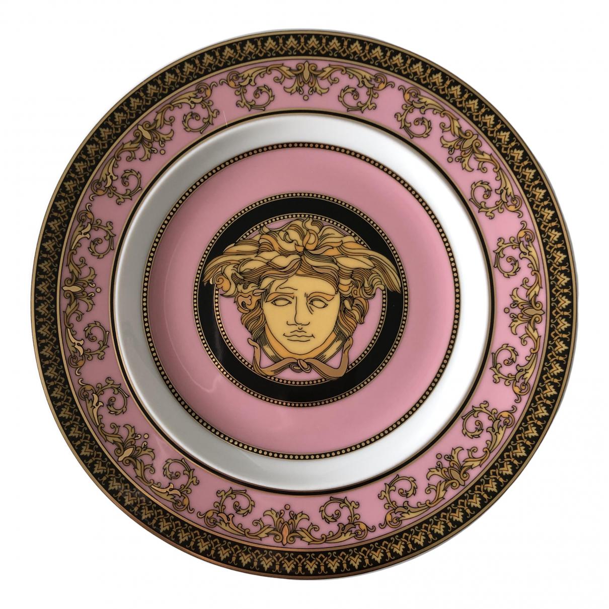 Versace - Arts de la table   pour lifestyle en porcelaine - rose