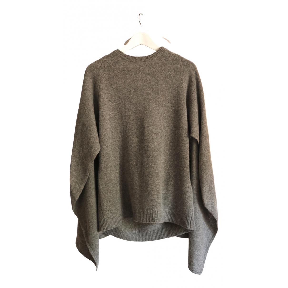 Sandro - Pull Fall Winter 2019 pour femme en laine - gris