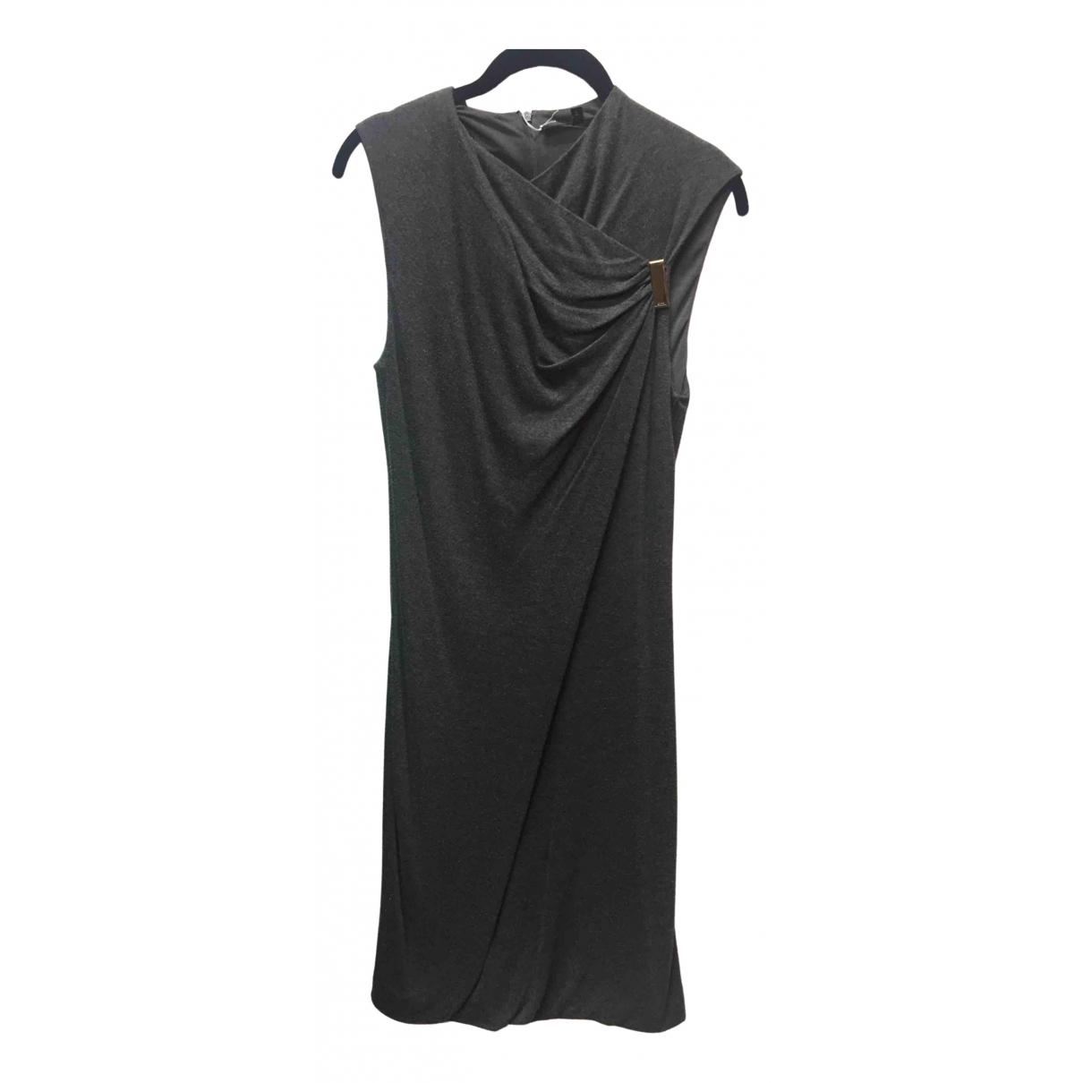 Gucci \N Kleid in  Grau Viskose
