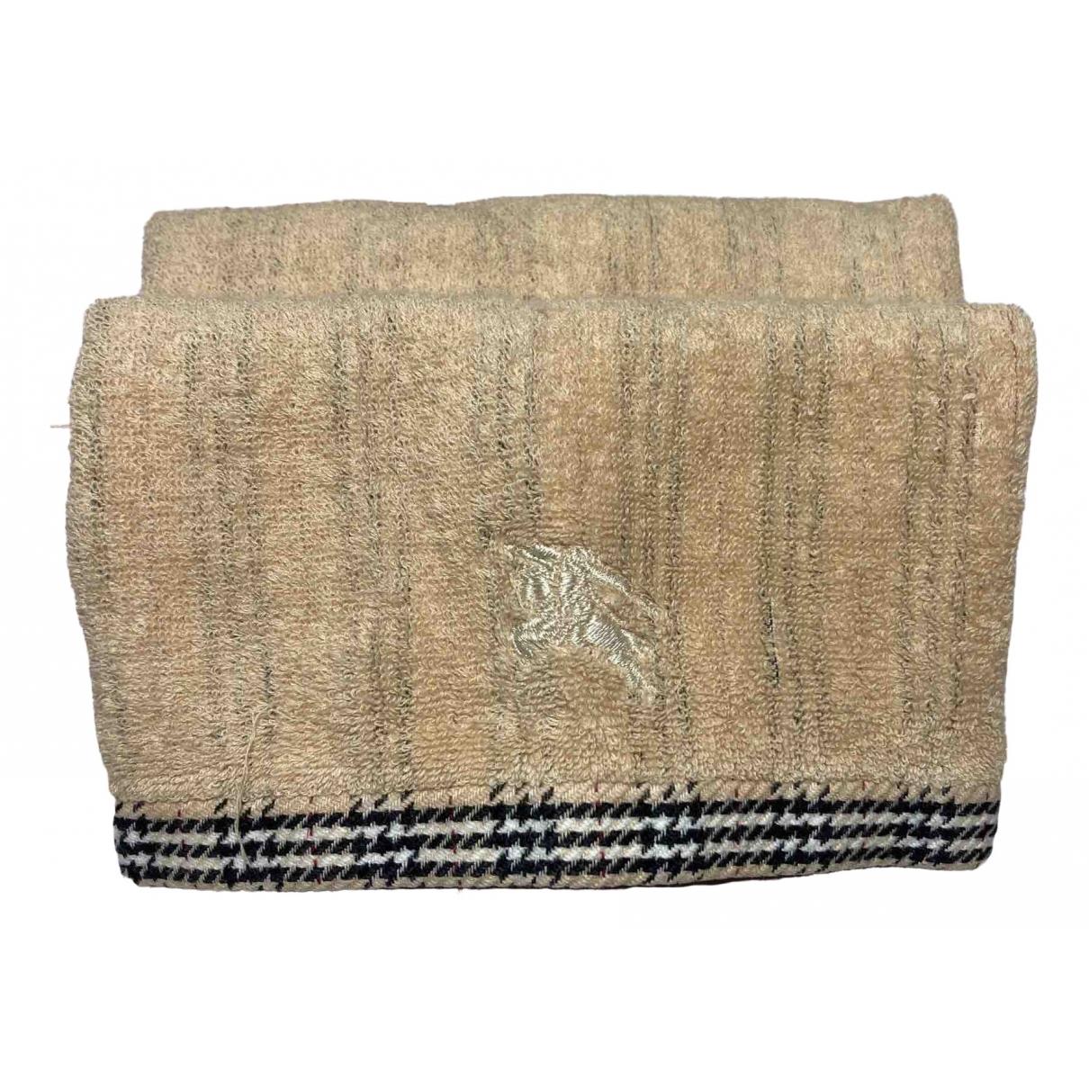 Burberry - Linge de maison   pour lifestyle en coton - kaki