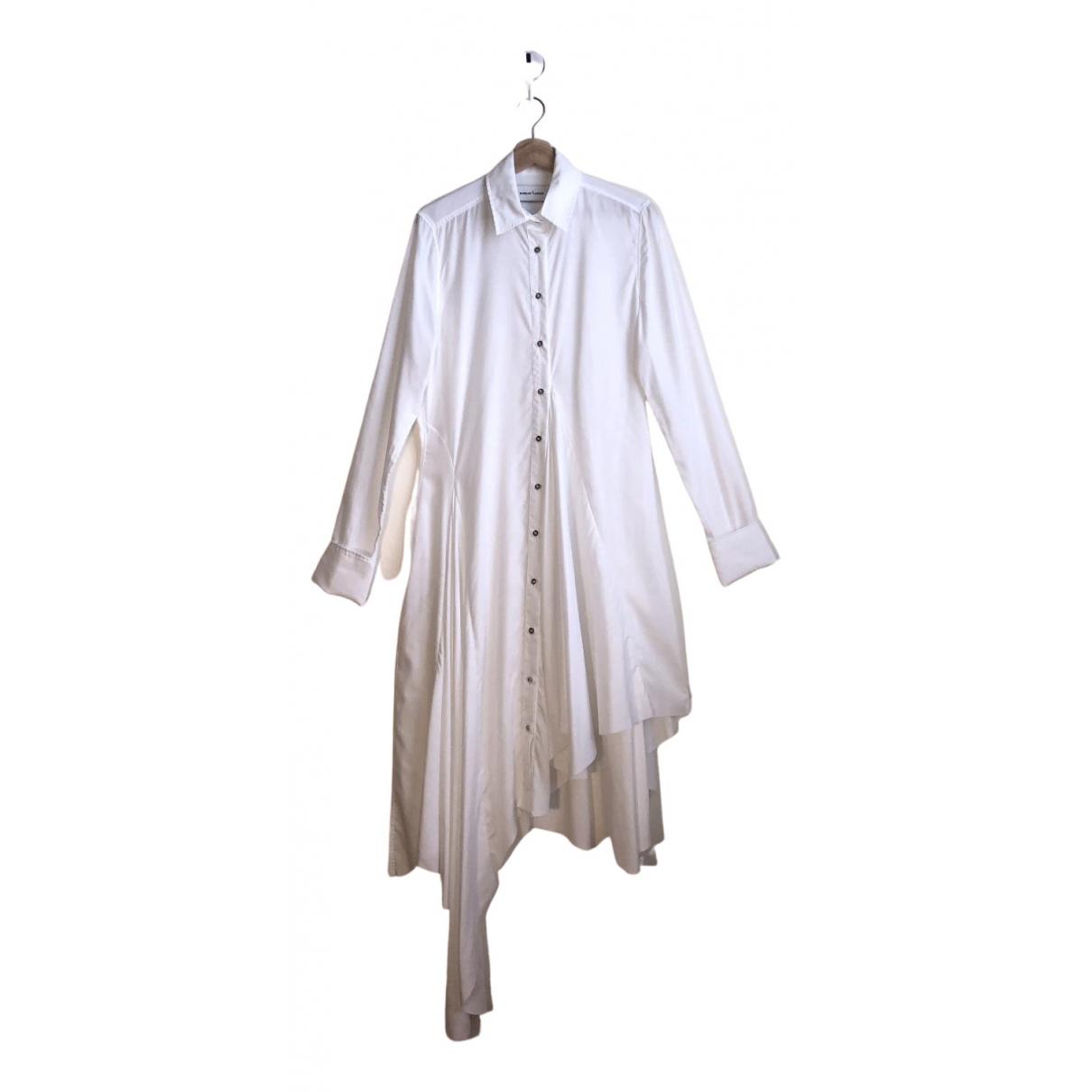 Marques Almeida N White Cotton dress for Women S International