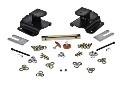 Belltech 6582 2in Rear Drop Hanger Kit Dodge Ram 1500 Ext Cab 1994-1999