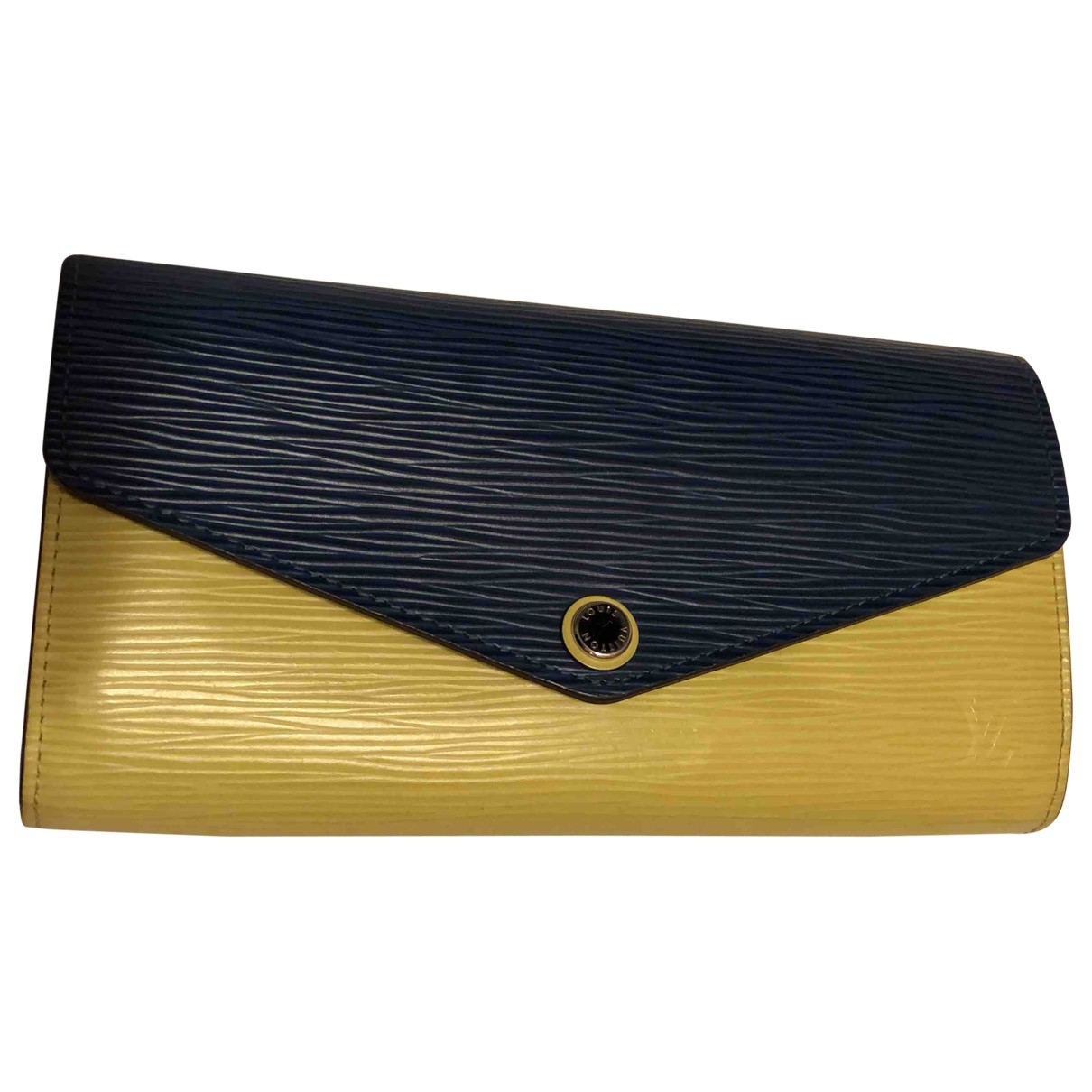 Louis Vuitton Sarah Yellow Leather wallet for Women \N