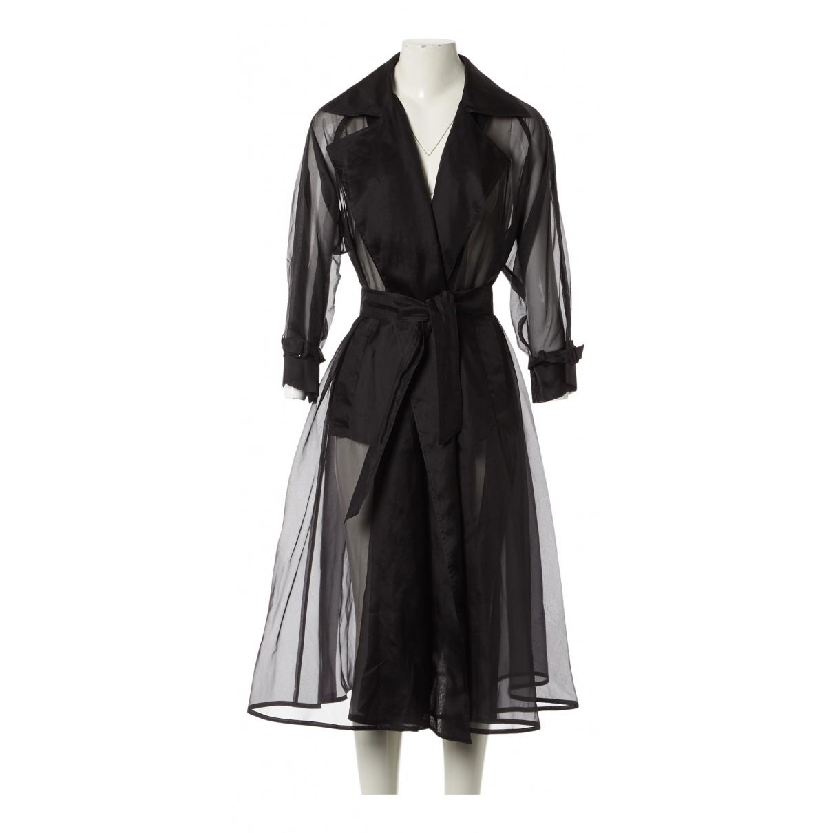 Max Mara N Black Silk jacket for Women 40 IT