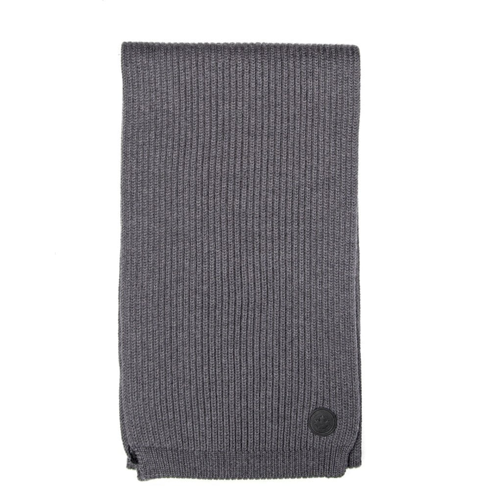 Dsquared2 Knitted Scalf Colour: GREY, Size: ONE SIZE