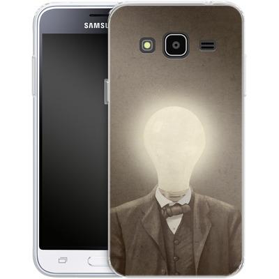 Samsung Galaxy J3 (2016) Silikon Handyhuelle - The Idea Man von Terry Fan